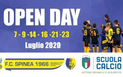 Open Day a Luglio